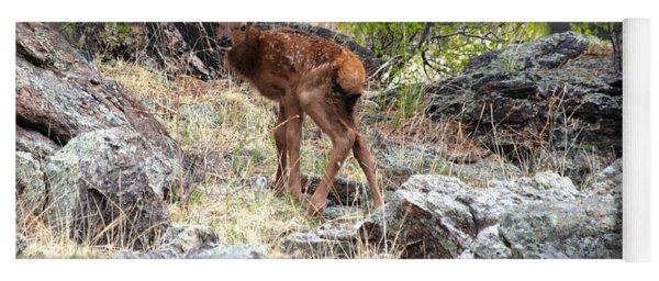Newborn Elk Calf Yoga Mat
