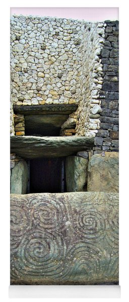 Newgrange Entrance Yoga Mat