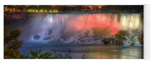 Niagara Falls Canada Sunset  Yoga Mat
