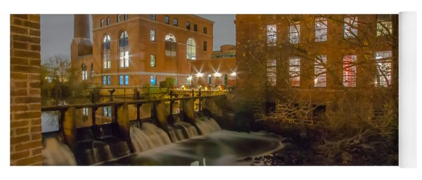 Night At The River Yoga Mat