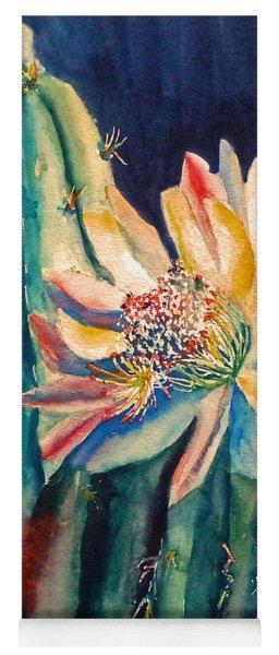 Night Blooming Cactus Yoga Mat