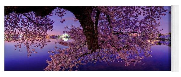 Night Blossoms Yoga Mat
