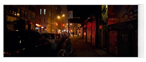 Night In New York City Yoga Mat
