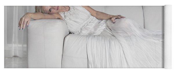 Night In White Satin Yoga Mat