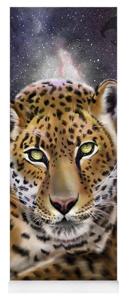 Fourth Of The Big Cat Series - Leopard Yoga Mat