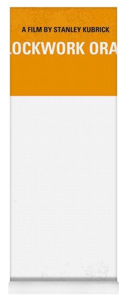 No002 My A Clockwork Orange Minimal Movie Poster Yoga Mat