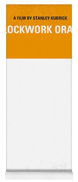No002 My A Clockwork Orange Minimal Movie Poster Yoga Mat
