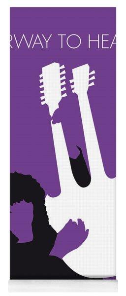 No011 My Led Zeppelin Minimal Music Poster Yoga Mat