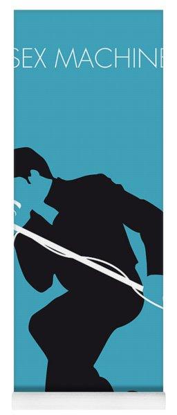 No018 My James Brown Minimal Music Poster Yoga Mat
