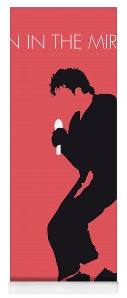 No032 My Michael Jackson Minimal Music Poster Yoga Mat