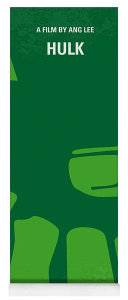 No040 My Hulk Minimal Movie Poster Yoga Mat