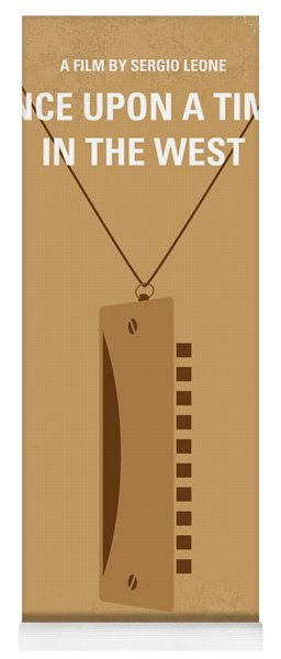 No059 My Once Upon A Time In The West Minimal Movie Poster Yoga Mat