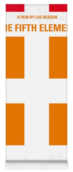 No112 My Fifth Element Minimal Movie Poster Yoga Mat