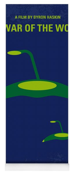 No118 My War Of The Worlds Minimal Movie Poster Yoga Mat