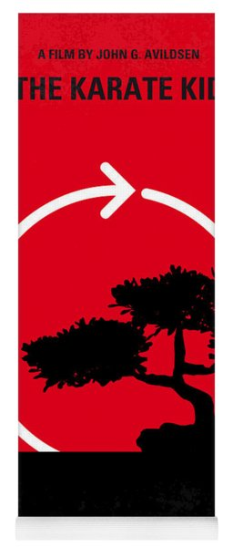 No125 My Karate Kid Minimal Movie Poster Yoga Mat