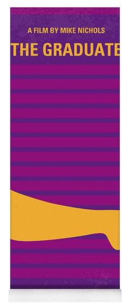 No135 My The Graduate Minimal Movie Poster Yoga Mat