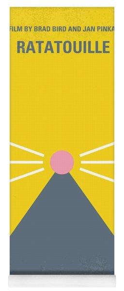 No163 My Ratatouille Minimal Movie Poster  Yoga Mat