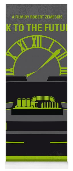No183 My Back To The Future Minimal Movie Poster-part IIi Yoga Mat