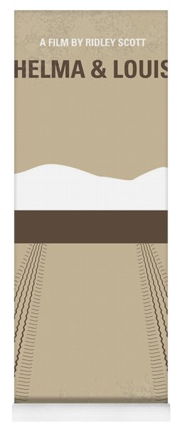 No189 My Thelma And Louise Minimal Movie Poster Yoga Mat