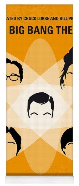 No196 My The Big Bang Theory Minimal Poster Yoga Mat