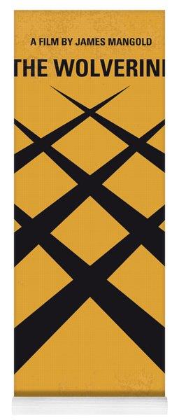 No222 My Wolverine Minimal Movie Poster Yoga Mat