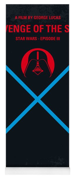 No225 My Star Wars Episode IIi Revenge Of The Sith Minimal Movie Poster Yoga Mat
