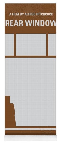 No238 My Rear Window Minimal Movie Poster Yoga Mat