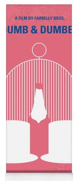 No241 My Dumb And Dumber Minimal Movie Poster Yoga Mat