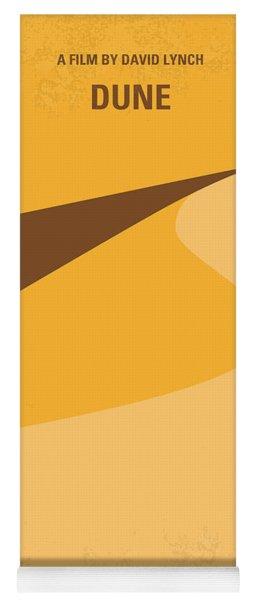 No251 My Dune Minimal Movie Poster Yoga Mat