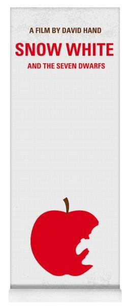 No252 My Snow White Minimal Movie Poster Yoga Mat