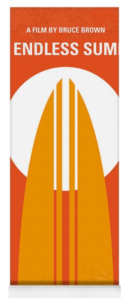 No274 My The Endless Summer Minimal Movie Poster Yoga Mat