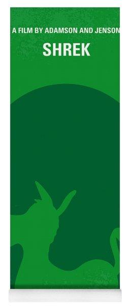 No280 My Shrek Minimal Movie Poster Yoga Mat