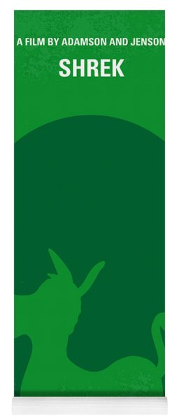 No280 My Shrek Minimal Movie Poster Yoga Mat