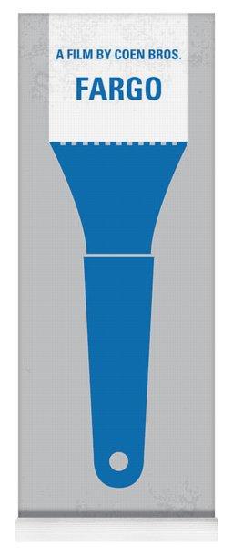 No283 My Fargo Minimal Movie Poster Yoga Mat