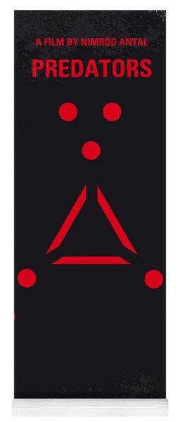 No289 My Predators Minimal Movie Poster Yoga Mat