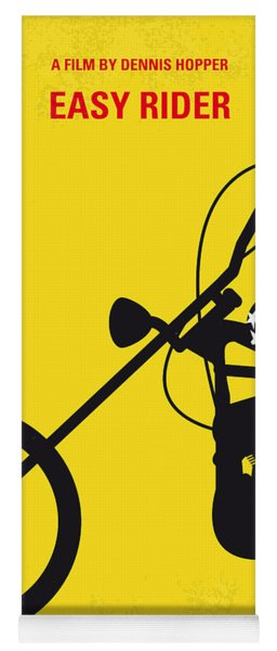 No333 My Easy Rider Minimal Movie Poster Yoga Mat