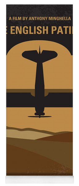 No361 My The English Patient Minimal Movie Poster Yoga Mat