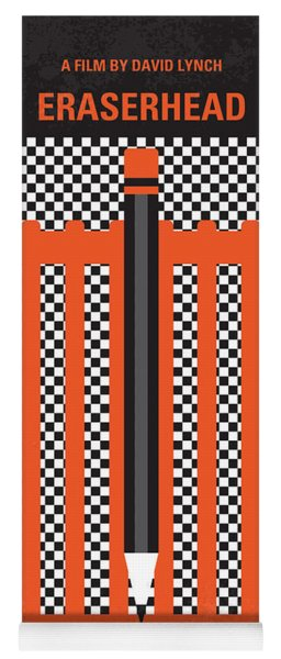 No414 My Eraserhead Minimal Movie Poster Yoga Mat
