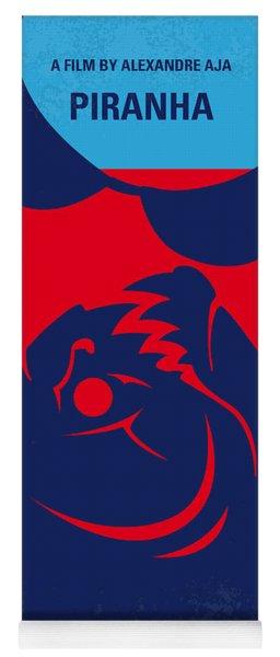 No433 My Piranha Minimal Movie Poster Yoga Mat