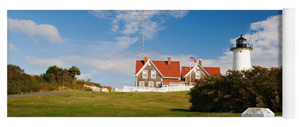 Nobska Point Lighthouse Yoga Mat