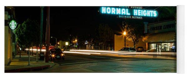 Normal Heights Neon Yoga Mat