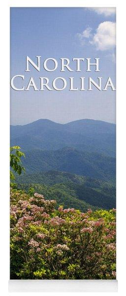 North Carolina Mountains Yoga Mat