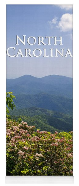 North Carolina Mountains Yoga Mat