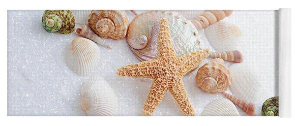North Carolina Sea Shells Yoga Mat
