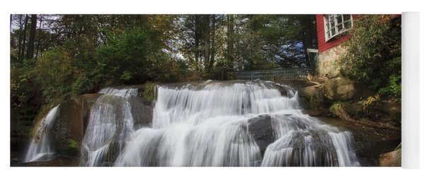 North Carolina Waterfall Yoga Mat