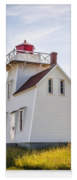North Rustico Lighthouse Yoga Mat