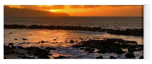 North Shore Sunset Yoga Mat