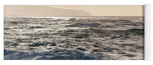 North Shore Waves Yoga Mat