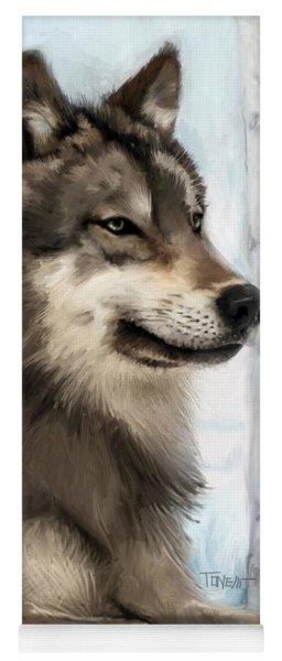 Northern Rocky Wolf... Yoga Mat