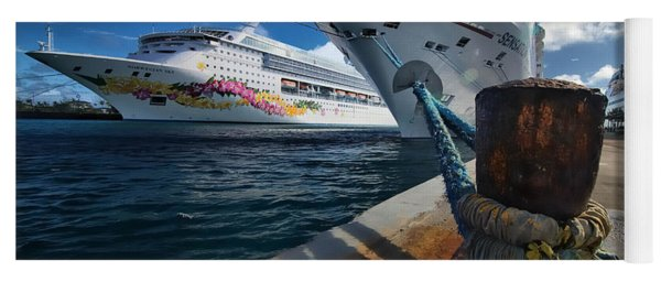 Norwegian Sky Carnival Sensation And Royal Caribbean Majesty Yoga Mat